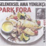 Park Fora- Milliyet Cadde Kapak